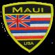 Hawaiian Flag Maui patch