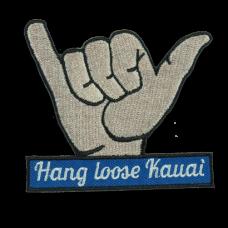 Hang Loose Kauai Patch