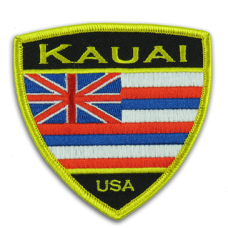 Hawaiian Flag Kauai patch