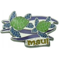 Honu Duo (Maui) pin