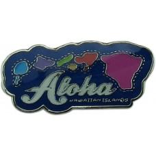 Hawaiian Islands Pin