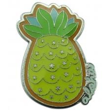 Pineapple Enameled Pin