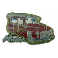 Woodie Car Pin