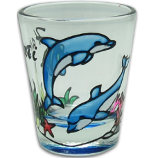 Dolphin Shot Glass