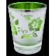 Hibiscus Kauai Metallic Shot Glass
