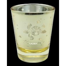 Honu Aloha Kauai Metallic Shot Glass