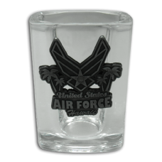 Air Force Medallion Shot Glass