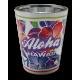 Hibiscus Aloha Electro Shot Glass