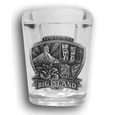 Big Island Medallion Shot Glass