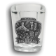 Big Island Medallion Shot Glass