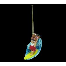 Santa Tandem Surfing