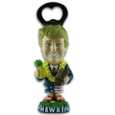 Trump with Pineapple Bottle Opener