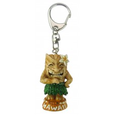 Pineapple Tiki Keychain