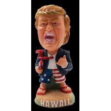 President Trump Surfer Bobble Head