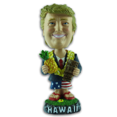 President Trump with Pineapple & Tiki Bobble Head