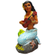 Napua Mermaid Dashboard Doll
