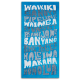 Funky Blues Hawaii Towel