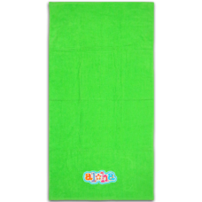 Aloha Floral Embroidered Towel