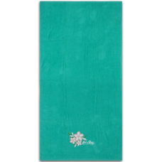 Plumeria Embroidered Towel