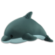 Dolphin Buddy Pillow