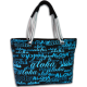Aloha Blue Beach Bag