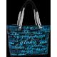 Aloha Blue Beach Bag