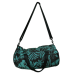 Turquoise Foldaway Duffel Bag