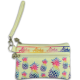 Pineapple Rainbow Wristlet