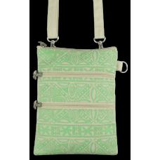 Tropical Tapa Neck Wallet