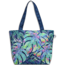 Aloha Hawaii Monstera Small Tote