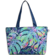 Aloha Hawaii Monstera Medium Tote