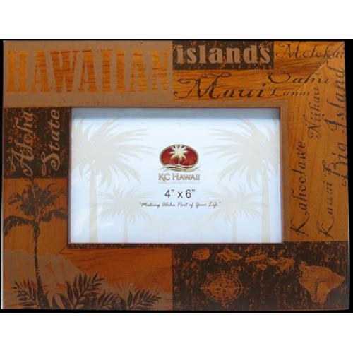 Hawaii Wood Frame