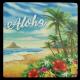 Aloha Coastal Coaster