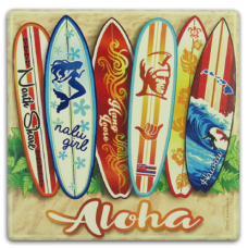 Aloha Surfboards Coaster