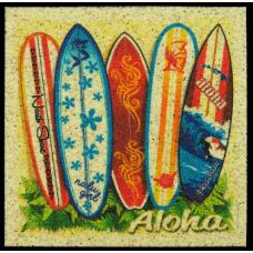 Surfboards Sand Coaster
