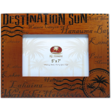 "Destination Sun Wooden Frame 5"" x 7"""