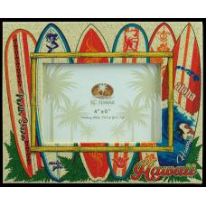 Surfboard Sand Frame