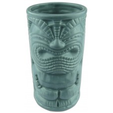 Happy Grey Tiki Mug
