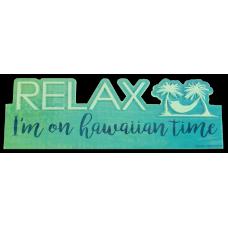 Hawaiian Time Table Sign