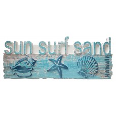 Sun & Surf Table Sign