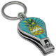 Pineapple Rays Enameled Nail Clipper