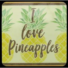 Pineapples MDF Coasters