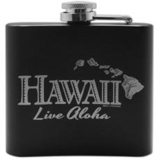 Hawaii Live Aloha Flask