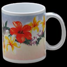 Pua Lei Ceramic Mug