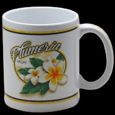 Plumeria Ceramic Mug