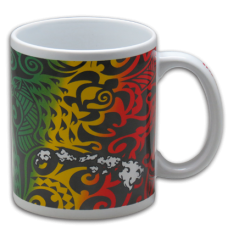 Tribal Rasta Coffee Mug