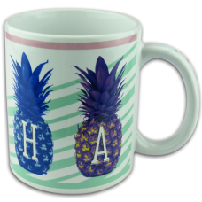 Aloha Pineapple Coffee Mug