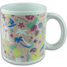 Islands of Aloha Ceramic Mug