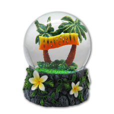Hawaii Globe (Large Glass)