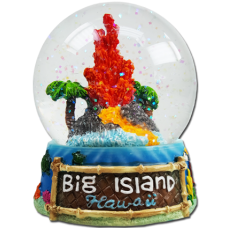 Big Island Globe (Large Glass)